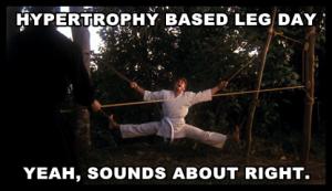 hypertrophybasedlegday