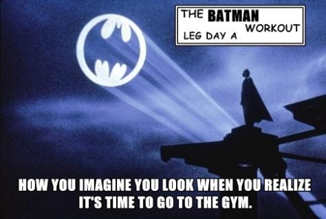 BatmanWorkoutLegDayA
